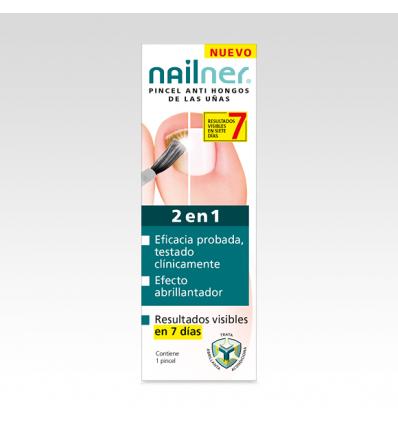 PINCEL NAILNER 2 EN 1 ANTIHONGOS