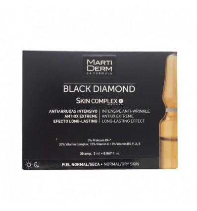 AMPOLLAS BLACK DIAMOND SKIN COMPLEX MARTIDERM 10 ampollas