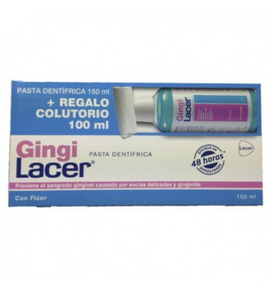 GINGILACER PASTA 150 ML+COLUTORIO REGALO