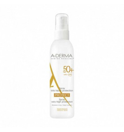 SPRAY SOLAR A-DERMA PROTECT SPF 50+ 200ml