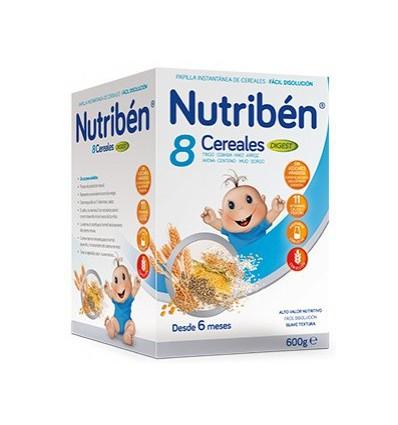 PAPILLA NUTRIBEN 8 CEREALES DIGEST 600gr
