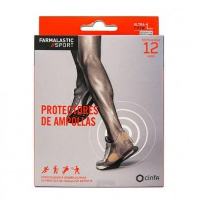 PROTECTOR DE AMPOLLAS FARMALASTIC SPORT REUTILIZABLE 12 usos