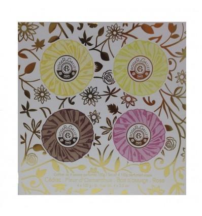 COFRE 4 JABONES PERFUMDOS ROGER & GALLET