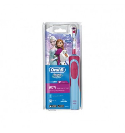 CEPILLO DENTAL ELECTRICO RECARGABLE INFANTIL ORAL-B STAGES PRINCESA FROZEN +3 AÑOS