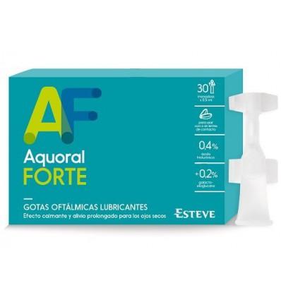 LAGRIMAS ARTIFICIALES AQUORAL FORTE 30 monodosis