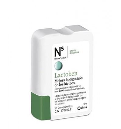 LACTOBEN NS CINFA 50 comprimidos