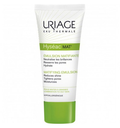 EMULSION MATIFICANTE HYSEAC MAT URIAGE 40ml