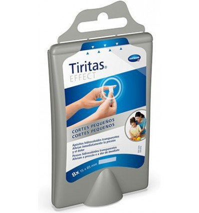 TIRITAS EFFECT CORTES PEQUEÑOS HARTMANN 3u