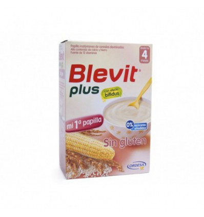 PAPILLA BLEVIT PLUS SIN GLUTEN 600gr