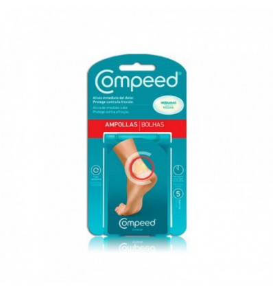 APOSITOS COMPEED AMPOLLAS MEDIANAS 5u
