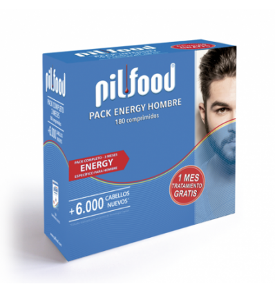 PACK PILFOOD ENERGY HOMBRE 3 MESES