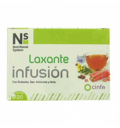 INFUSION LAXANTE NS CINFA 20 sobres