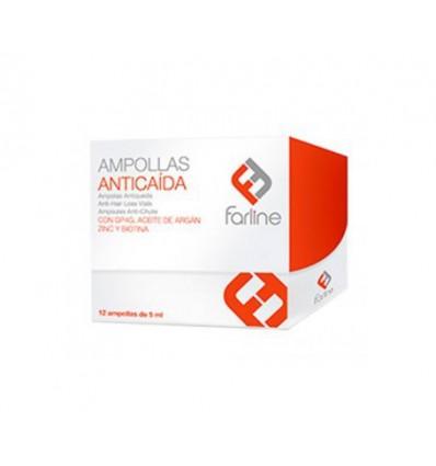 AMPOLLAS ANTICAIDA FARLINE 12 unidades