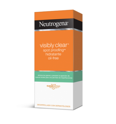 CREMA HIDRATANTE VISIBLY CLEAR SPOT PROOFING OIL FREE NEUTROGENA 50ml