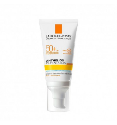 CREMA SOLAR CON COLOR ANTHELIOS PIGMENTATION SPF-50+ LA ROCHE POSAY 50ml