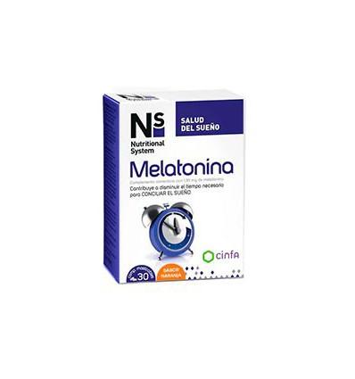 MELATONINA MASTICABLE SABOR NARANJA CINFA 30 comprimidos