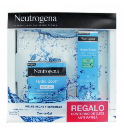PACK GEL-CREMA HYDRO BOOST NEUTROGENA 50ml + CONTORNO DE OJOS HYDRO BOOST NEUTROGENA