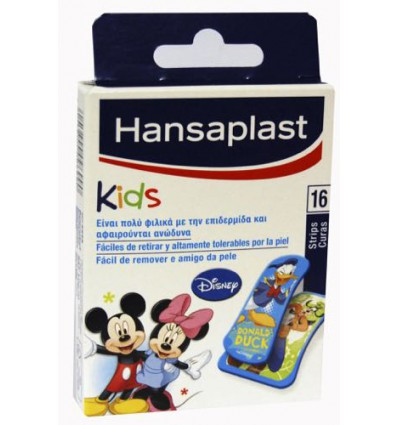 APOSITOS HANSAPLAST INFANTILES DISNEY 2 TAMAÑOS 16u