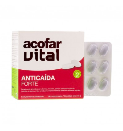 TRATAMIENTO ANTICAIDA ACOFARVITAL FORTE 60 comprimidos