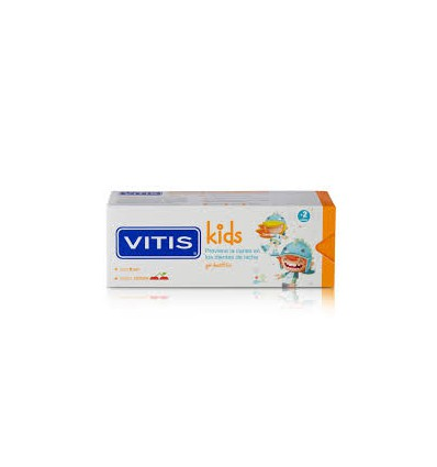 GEL DENTAL VITIS KIDS SABOR CEREZA 50ml