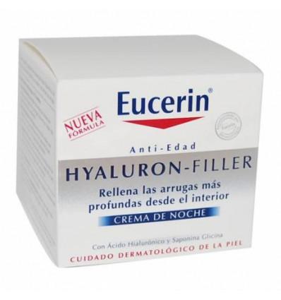 CREMA DE NOCHE EUCERIN HYALURON FILLER 50 ML
