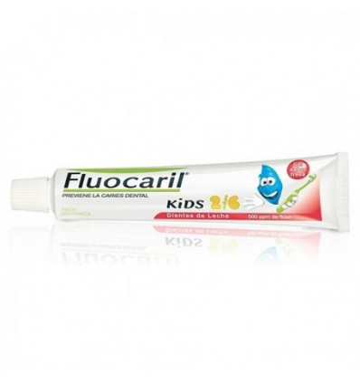 PASTA DENTAL FLUOCARIL KIDS 2-6 AÑOS SABOR FRESA 50ml
