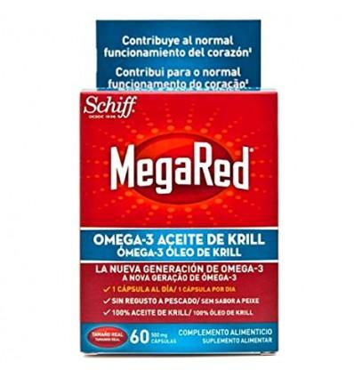MEGARED 500 OMEGA 3 ACEITE DE KRILL 60 cápsulas