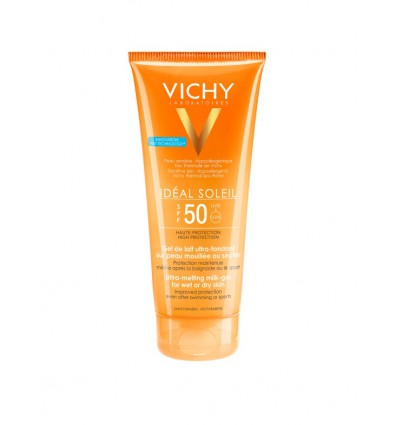 GEL SOLAR ULTRA FUNDENTE VICHY IDEAL SOLEIL SPF-50 200ml