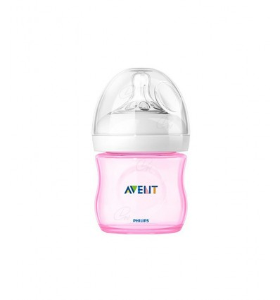 BIBERON NATURAL AVENT +0 MESES COLOR AZUL 125ml