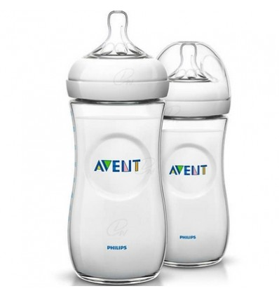 PACK BIBERON NATURAL AVENT +3 MESES 2x330ml