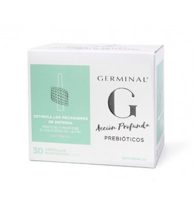 AMPOLLAS GERMINAL ACCION PROFUNDA PREBIOTICOS 30u