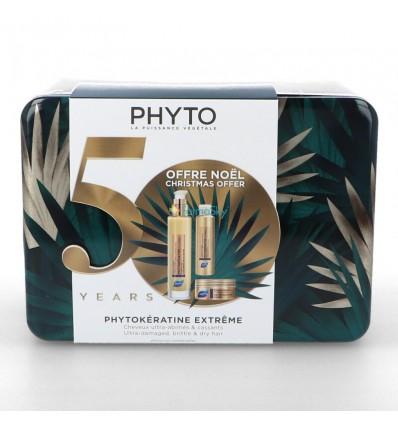 PACK CREMA PHYTOKERATINE EXTREME 100ml + CHAMPU PHYTOKERATINE EXTREME 50ml + MASCARILLA PHYTOKERATINE EXTREME PHYTO50ml