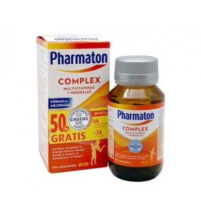 PACK VITAMINAS PHARMATON COMPLEX 60 + 30 cápsulas