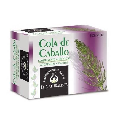 COLA DE CABALLO EL NATURALISTA 60 cápsulas