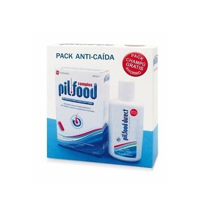 PACK PILFOOD COMPLEX 60 COMPR+CHAMPÚ 100 ML