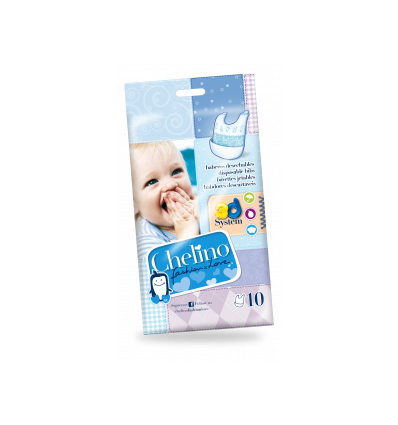BABERO INFANTIL CHELINO DESECHABLE FASHION AND LOVE 10u