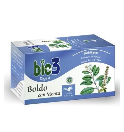 INFUSION BIE 3 BOLDO CON MENTA 25u