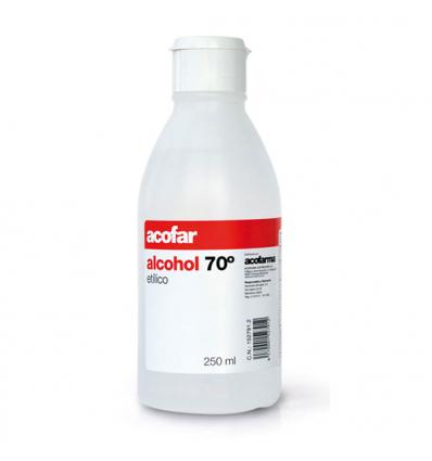 ALCOHOL ACOFAR 70º 250ml