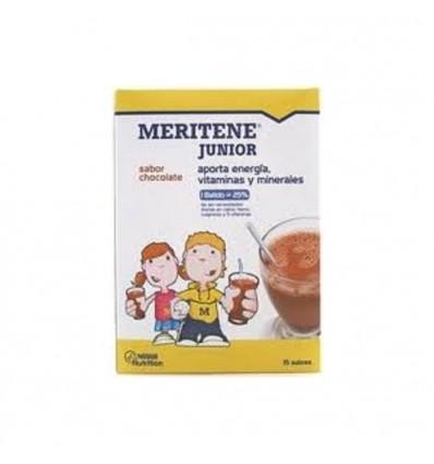 BATIDOS MERITENE JUNIOR CHOCOLATE 15 sobres