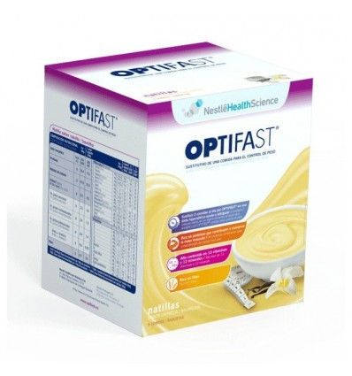 NATILLAS OPTIFAST SABOR VAINILLA 9u