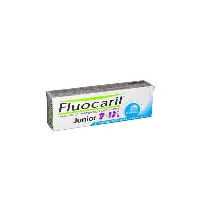 PASTA DENTAL FLUOCARIL JUNIOR 7-12 AÑOS SABOR BUBBLE 50ml