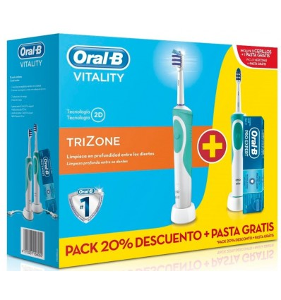 Compra pack cepillo eléctrico Vitality Trizone al mejor precio online e091906258ab